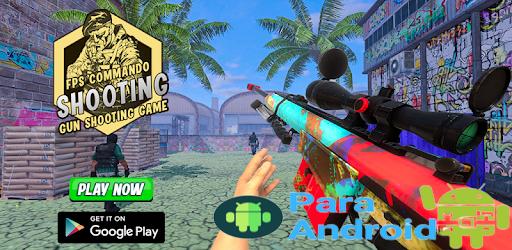 FPS Commando Shooter: Gun Shooting Games