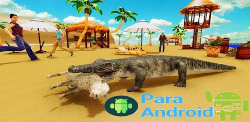 Hungry Crocodile Beach City Attack Simulator 2019