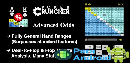 PokerCruncher – Advanced – Poker Odds Calculator