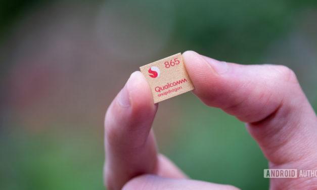 ¿Qualcomm funciona en un procesador Snapdragon 865 Plus? (Actualización: probablemente no)
