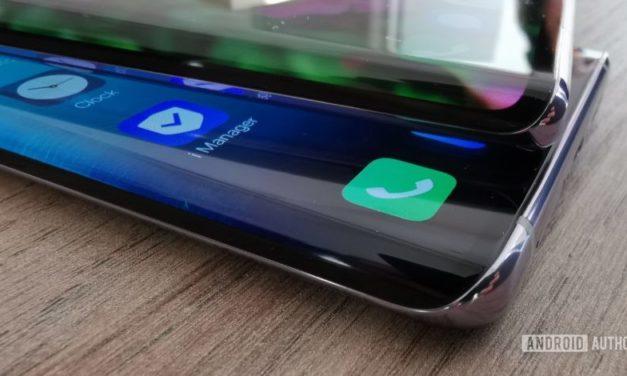 La patente de Xiaomi apunta al teléfono con una útil pantalla en cascada