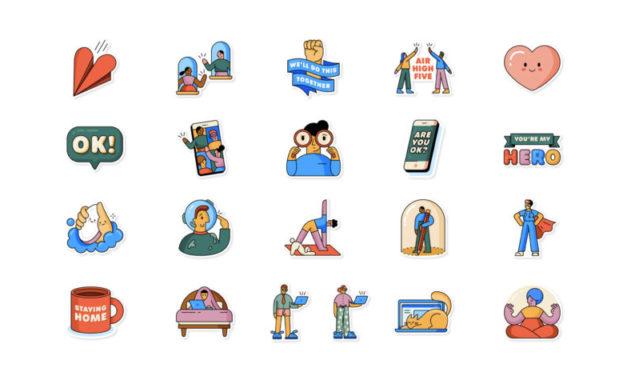 WhatsApp lanza stickers para hablar en COVID-19