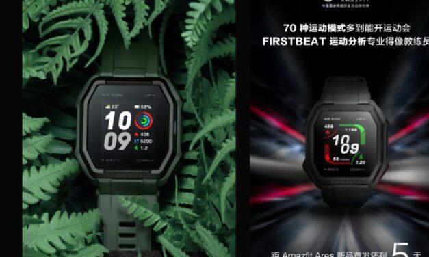 El creador del grupo Mi Huami se burla del lanzamiento del reloj inteligente Amazfit Ares para el 19 de mayo