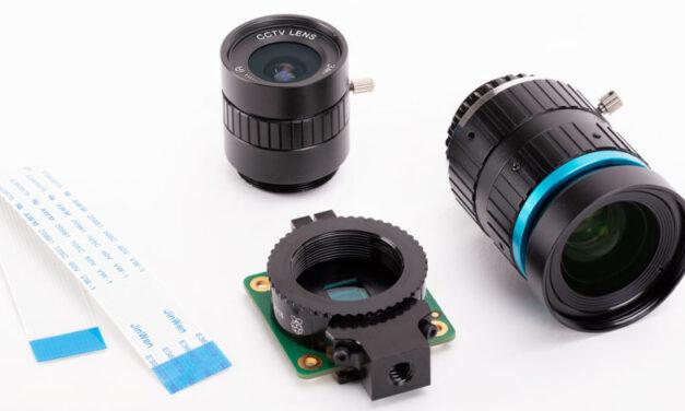 Nueva cámara Raspberry Pi de $ 50 con lentes intercambiables
