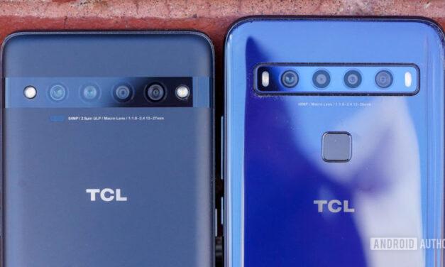 TCL 10 Pro y TCL 10L recibirán la actualización de Android 11