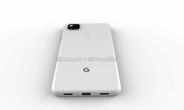 Fecha de lanzamiento y colores de Google Pixel 4a lanzados, en julio