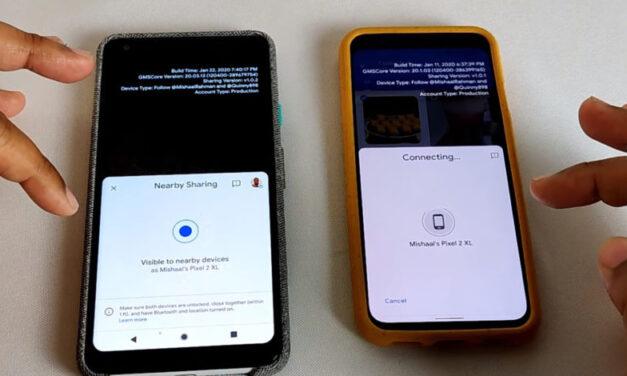 Te mostramos cómo intentar compartir cerca de Android AirDrop