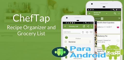 ChefTap: Recipe Clipper, Planner and Grocery List