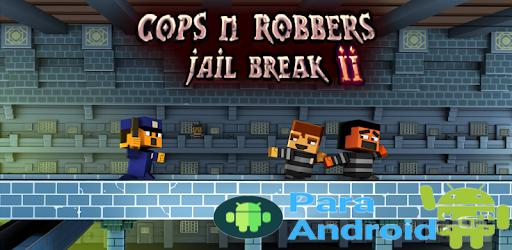 Cops N Robbers: Pixel Prison Games 2