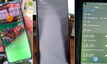Motorola Edge Plus tiene problemas importantes de visualización