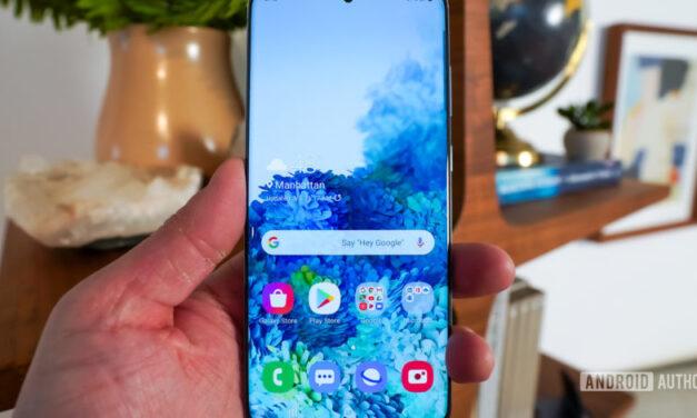 PSA: Verizon Galaxy S20 ha reducido la cantidad de RAM