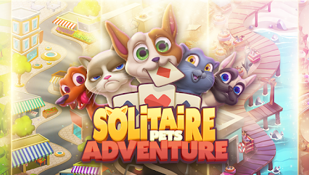 Solitaire Pets Adventure – Free Classic Card Game