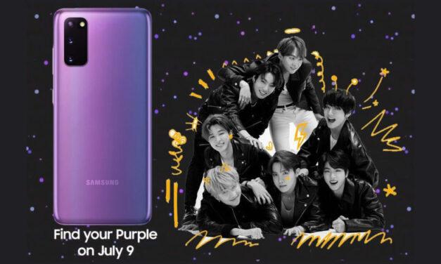 Los fanáticos del K-Pop se alegran, hay una edición Galaxy S20 Plus BTS en camino