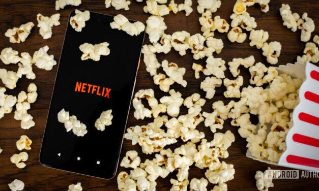 Cambiar la velocidad de reproducción de Netflix en Android