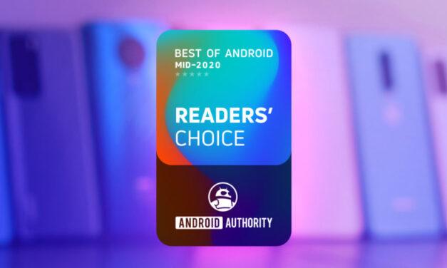 Lo mejor de Android: Reader's Choice Mid 2020 – ¡Vota ahora!