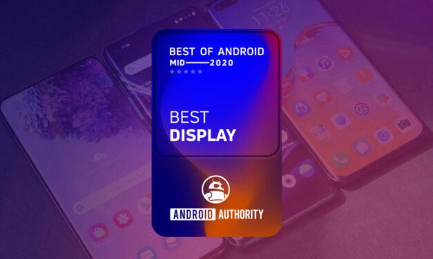 Lo mejor de Android: mediados de 2020: ¿qué teléfono tiene la mejor pantalla?