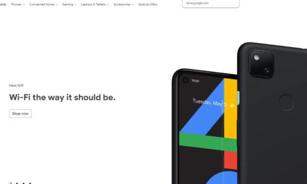 Google Pixel 4a filtrado por la propia tienda de Google