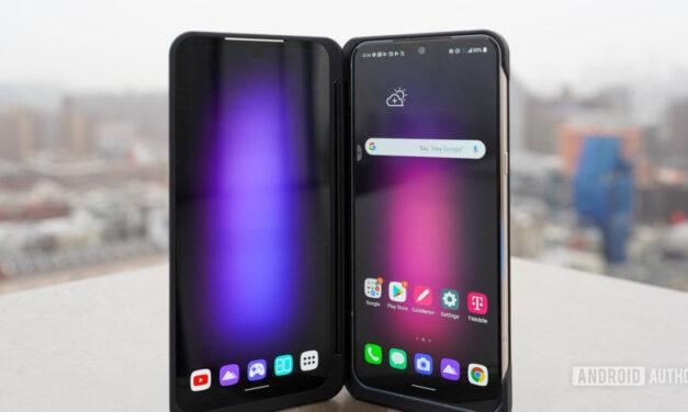 El concepto de teléfono inteligente enrollable Project B de LG entra en fase de creación de prototipos