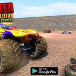 Real Monster Truck Demolition Derby Crash Stunts