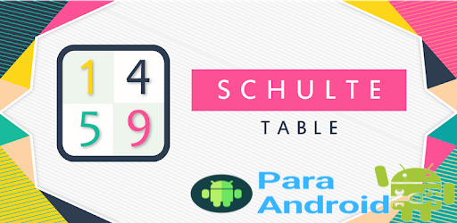 Schulte table – Fast Reading Techniques📚.