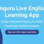 enguru Live English Learning App | Learn English