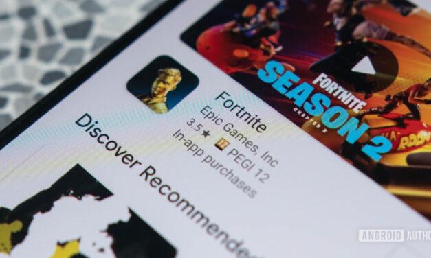 Fortnite se ha retirado de Google Play Store, pero los jugadores de Android aún pueden obtenerlo