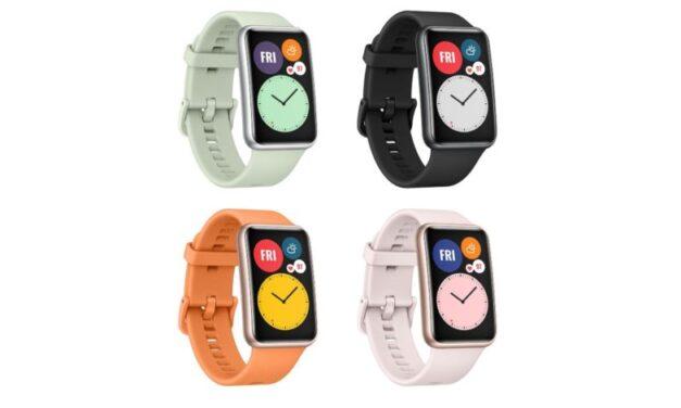 Huawei Watch Fit se filtra en todo su esplendor con 96 modos deportivos, cuatro combinaciones de colores