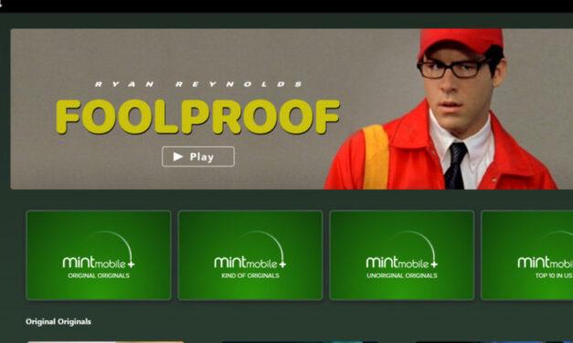 Mint Mobile Plus lanza la película de Ryan Reynolds