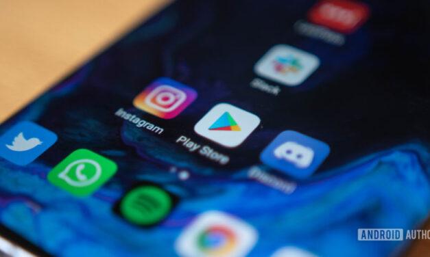 Funcionalidad de comparación de aplicaciones de prueba de Google Play Store
