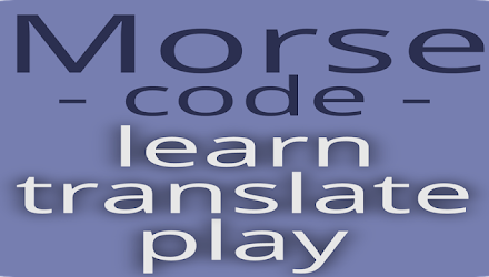 Morse code – learn and play