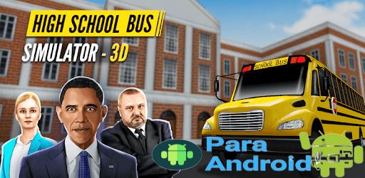 Super High School Bus Driving Simulator 3D – 2020