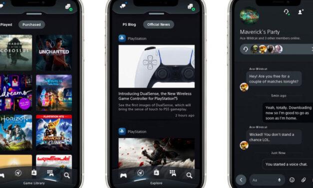 La aplicación móvil de PlayStation recibe una gran actualización para PS5