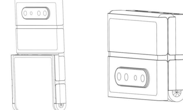 Oppo ahora imagina teléfonos plegables con estructuras en forma de bloque