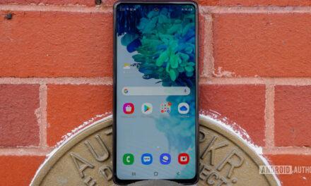Samsung Galaxy S20 FE obtiene la tercera solución para problemas de pantalla táctil