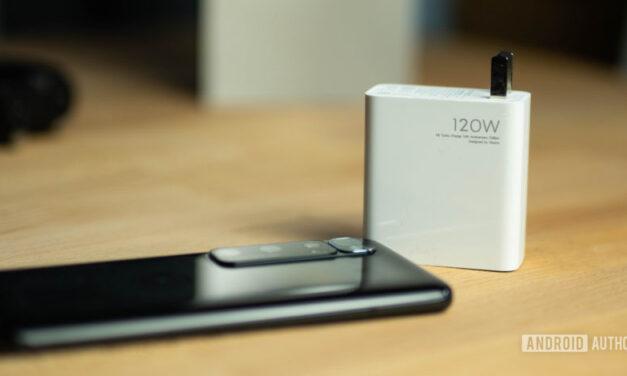 Fuga: los teléfonos con una carga de 200 W podrían ser una cosa