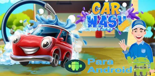 Kids Car Wash Service Station