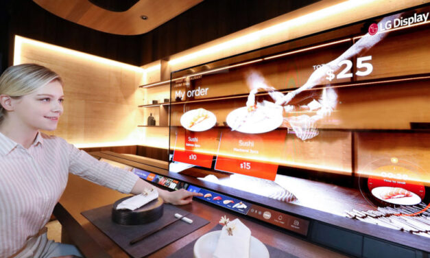LG quiere usar pantallas OLED transparentes para televisores de dormitorio 'invisibles'