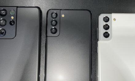 La familia completa del Samsung Galaxy S21 se filtró en fotos reales