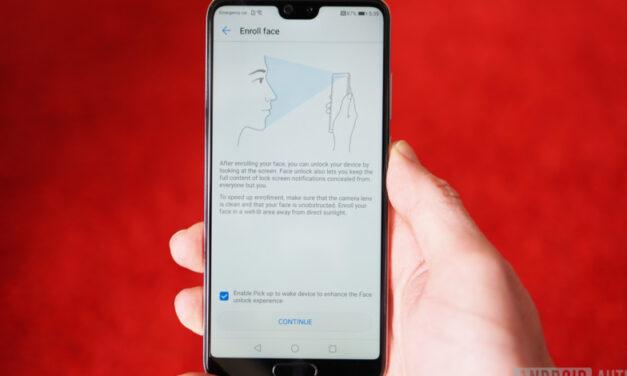 Es posible que su próximo teléfono tenga un sensor de desbloqueo facial debajo de la pantalla