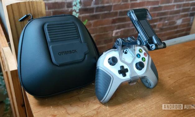 La nueva línea de juegos OtterBox incluye clips para el teléfono del controlador Xbox