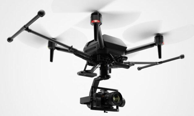El dron Sony Airpeak transportará tu cámara Sony Alpha al cielo