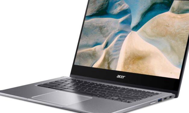 El nuevo Chromebook Spin 514 de Acer funciona con procesadores móviles y GPU de AMD
