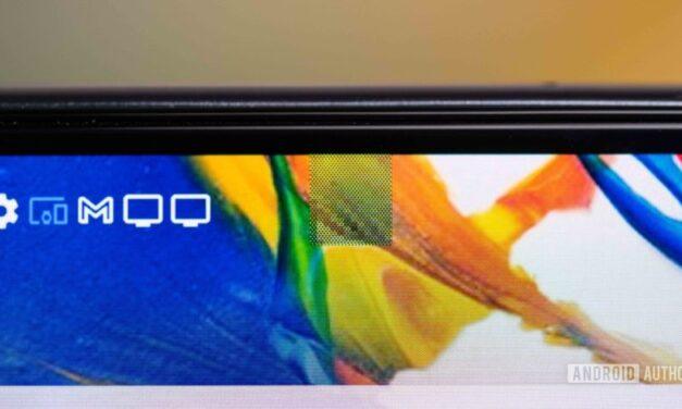 DxOMark revisa el primer teléfono con una cámara debajo de la pantalla, y es malo