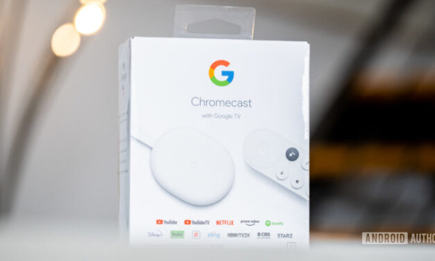 Chromecast con los próximos perfiles de Google TV para niños