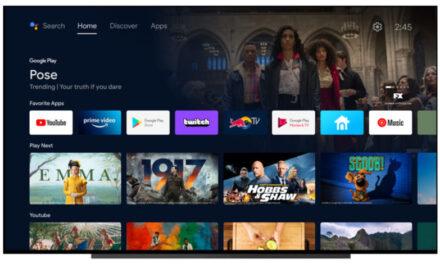 La actualización de la interfaz de Android TV lo hará un poco como Google TV