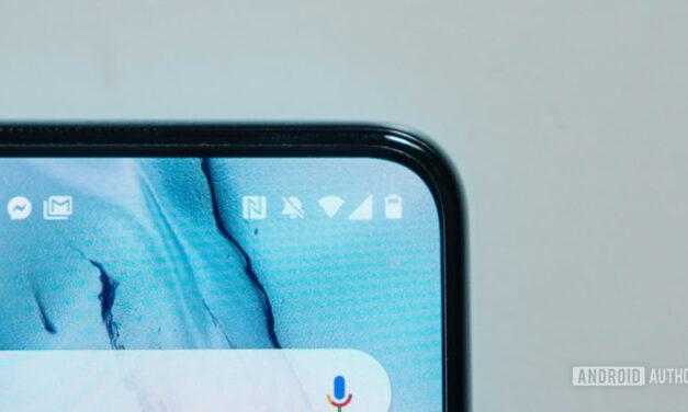 OnePlus podría funcionar en un teléfono con una cámara para selfies dentro del bisel