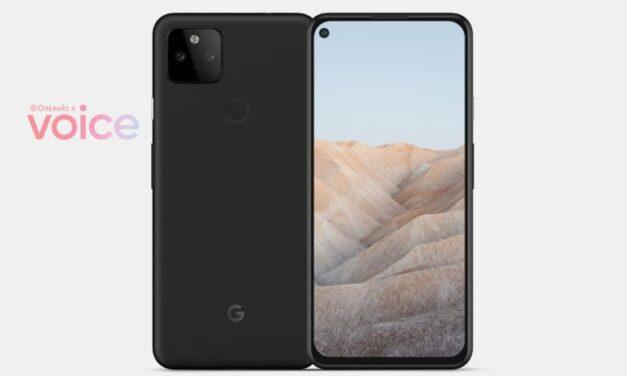 Las representaciones filtradas de Google Pixel 5a lo hacen casi idéntico al Pixel 4a 5G