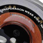 La imagen del reloj de la motocicleta muestra Snapdragon Wear 4100
