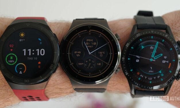 Huawei Watch 3 está programado para lanzarse en mayo con Harmony OS UI y soporte eSim
