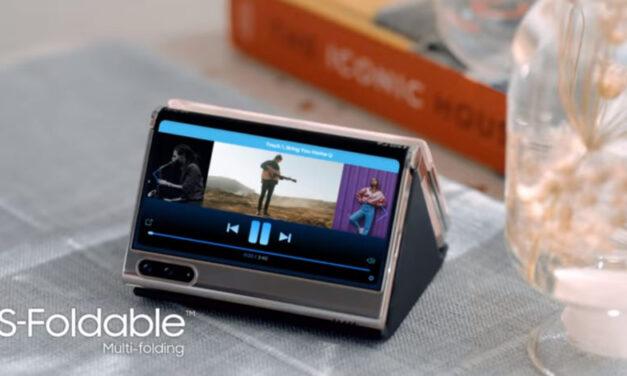 Mira cómo Samsung muestra el diseño de plegado en Z en un nuevo video